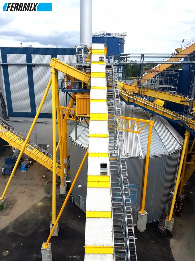 Обслуживающие площадки конвейеров шнековый конвейер схема
