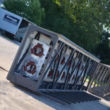 Material handling equipment. Bulk handling. Pipe belt conveyors