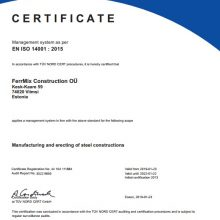 FERRMIX EN ISO 14001-2015