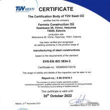 FERRMIX EN ISO 3834-2